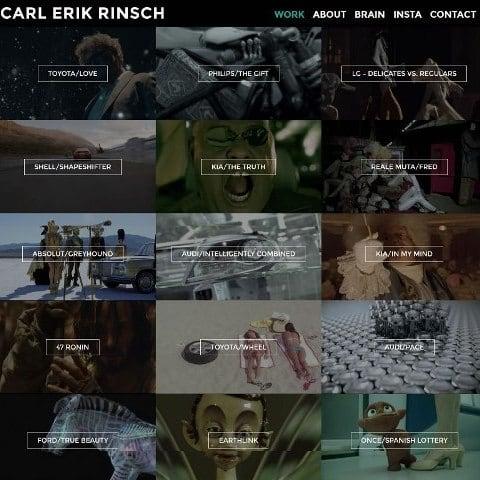 Carl Rinsch official web