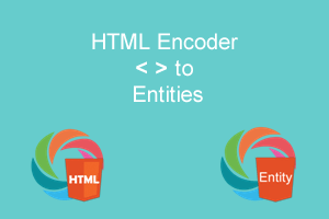 HTML Special Characters replace with Entities