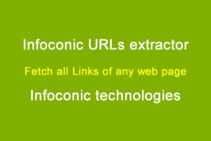 URL Extractor - Fetch all internal & external links of a web-page