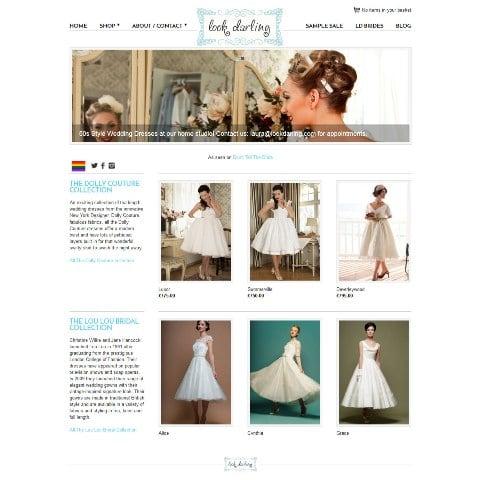 Look darling e-commerce