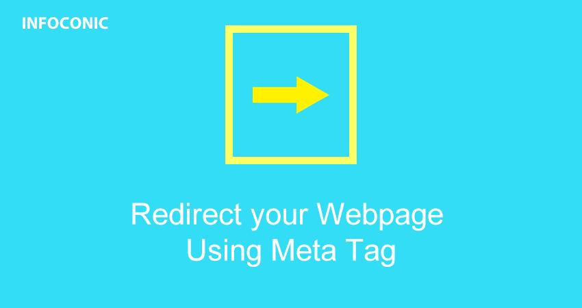 Redirect Website using Meta Tag