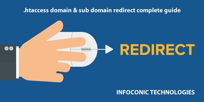 htaccess redirect Domain & sub Domain