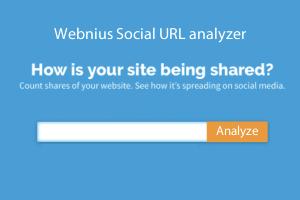 Social URL Analyzer - Get social media share counts